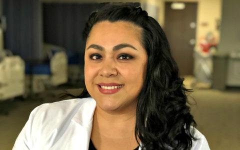 Doctor of Nursing Practice student Erica Dees